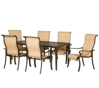 Hanover Brigantine 7-Piece Outdoor Dining Set - H280849