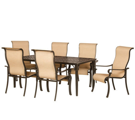 Hanover Brigantine 7-Piece Outdoor Dining Set