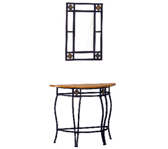 Hillsdale Furniture Lakeview Console Table andMirror - H282949