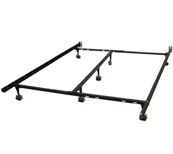 Hercules Universal Adjustable Metal Bed Frame - H288049