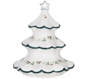 "Pfaltzgraff Winterberry 12"" LED Tree - H289949"