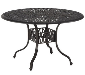"Home Styles Floral Blossom 48"" Round Dining Table - H367849"