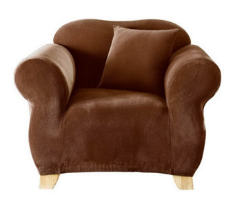 Sure Fit Stretch Pique Chair Slipcover - H136850