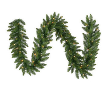 "9' x 12"" Camdon Fir Garland by Vickerman - H142950"