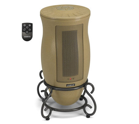 Lasko Designer Series Oscillating Ceramic Heater with Remote