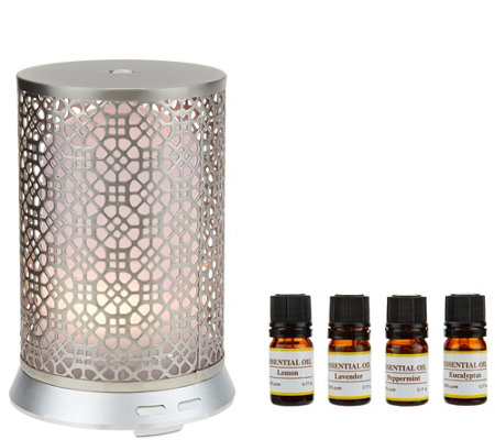 Aroma Diffuser with Essential Oils by Home Reflections