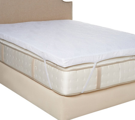 "MyPillow Premium 3"" Calif. King Mattress Topper w./ Gel & Cover"