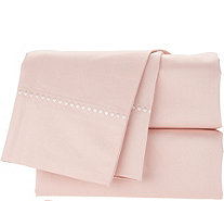 Casa Zeta-Jones 1000TC 100% Cotton Embroidered Hem Sheet Set - H214150