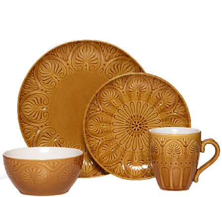 Pfaltzgraff Everyday Dolce Honey 16-pc Dinnerware set