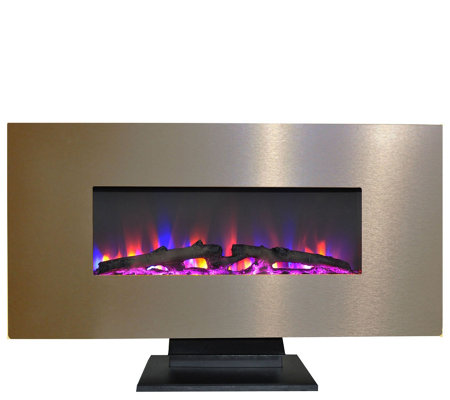 "Cambridge 42"" Electric Fireplace w/ Color Log Display"