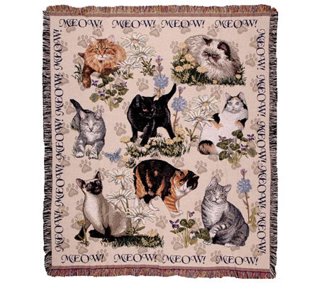 Meow Mix Throw