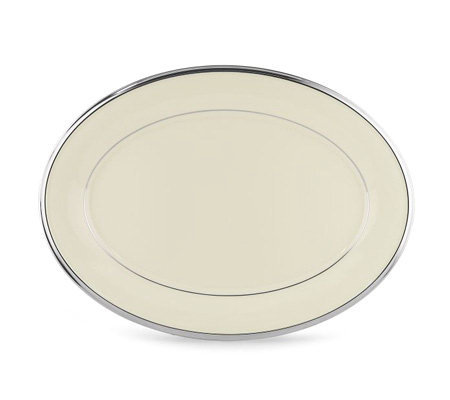 "Lenox Solitaire 13"" Oval Platter"