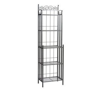 Elaine Black Iron Baker's Rack - H160951