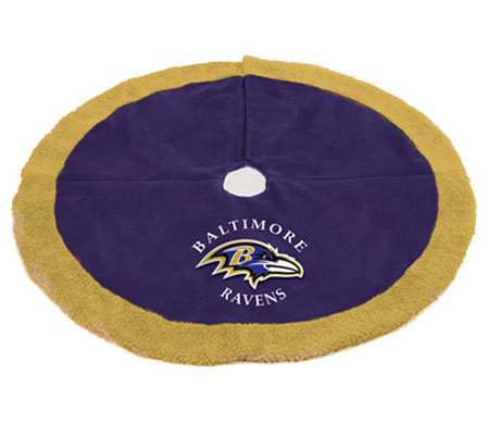 NFL Baltimore Ravens Tree Skirt