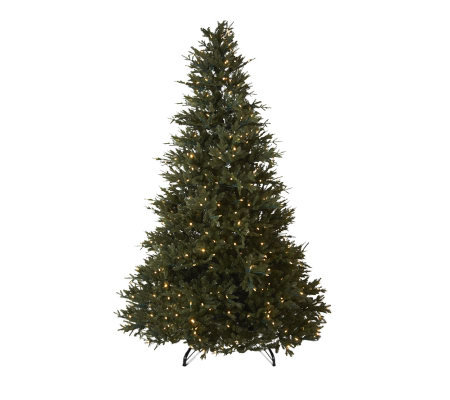 Santa's Best 7.5' FrasierFir Christmas Tree with EZ-Power