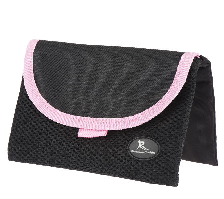 """As Is"" On The Go Belt-Free Pouch By Lori Greiner"