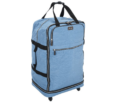 """As Is"" Biaggi Zip Sak 31"" Foldable Luggage by Lori Greiner"