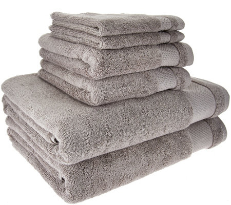 Scott Living 100% Hygro Cotton 6 Piece Towel Set