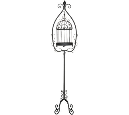 Floor Standing Decorative Hanging Birdcage by Valerie
