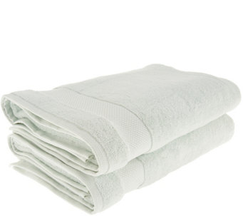 Scott Living 100% HygroCotton Set Of 2 Bath Sheets   H216151