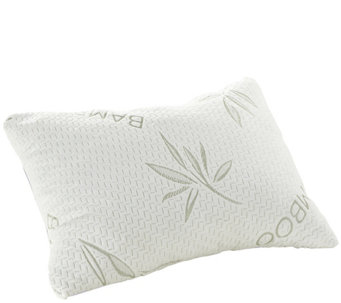 Shredded Memory Foam Pillow & Rayon Made FromBamboo Cover - H288051