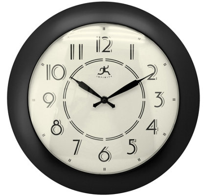 "Jitter Bug 14-1/2"" Wall Clock by Infinity"