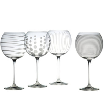 Mikasa Cheers Set of 4 Balloon Goblets - H289251