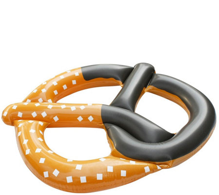 "51"" Jumbo Inflatable Pretzel Island Swimming Pool Float"