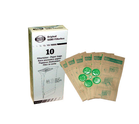 Sebo Filter Bag Box for X, G and 370-Series Vacuum Cleaners
