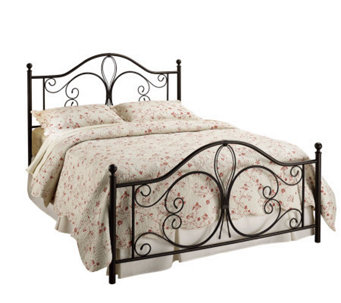 Hillsdale House Milwaukee Twin Bed - Antiqued Brown Finish - H156352