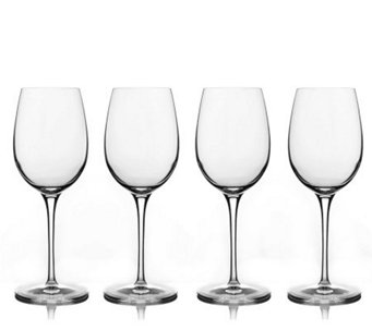 Luigi Bormioli 13-oz Chardonnay Wine Glasses -Set of 4 - H172552