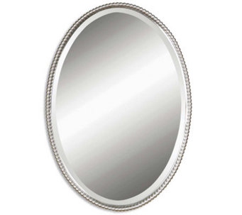 Sherise Oval Mirror by Uttermost - H185952