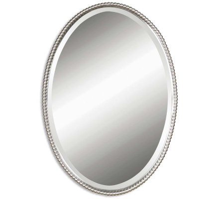 Sherise Oval Mirror by Uttermost