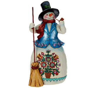 Jim Shore Winter Wonderland Snowman Figurine - H206552