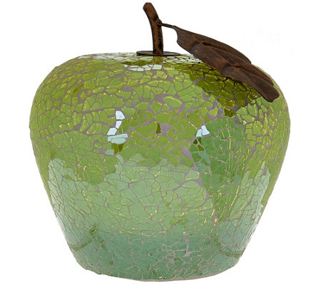Mosaic Glass Fruit Luminary by Home Reflections
