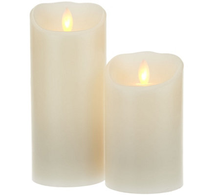 "Set of 2 Mirage 3"" Diameter Candles by Candle Impressions"