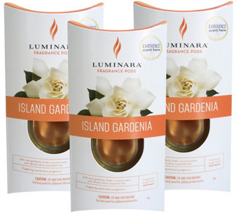 Luminara Set of 3 Fragrance Cartridges - H210852