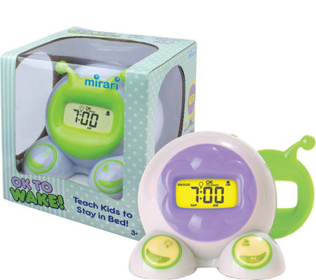 PlayMonster OK to Wake Bedside Clock