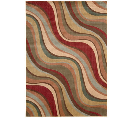 "Nourison Atlas 2' x 5'9"" Rythmns Machine-Made Rug"