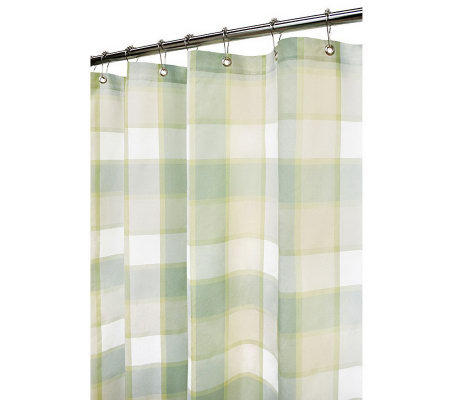 Watershed 2-in-1 Barton 72x72 Shower Curtain