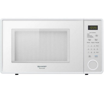 Sharp Mid-Size 1.1 Cu. Ft. 1000W Microwave Oven- Smooth White - H358652