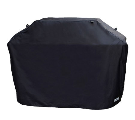 "Sure Fit 65"" Premium Large Wide Grill Cover - Black"