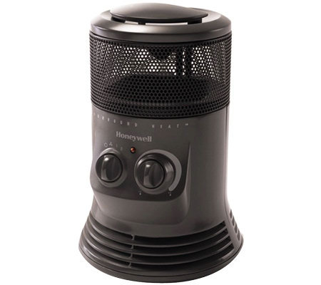 Honeywell Mini Tower 360 Heater - Gray