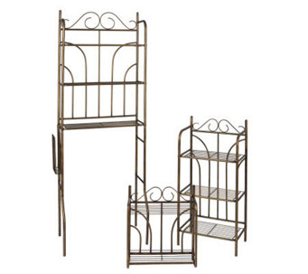 Bathroom Organization Bronze 3-Piece Set - H156053