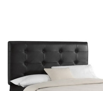 Skyline Furniture Tufted Bonded Leather Twin Headboard - H159453