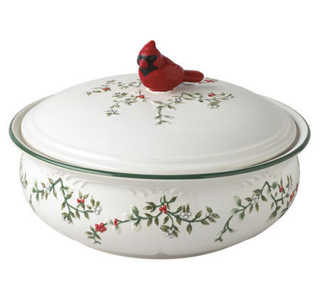 Pfaltzgraff Winterberry Covered Bowl - 2 quart