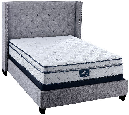 "Serta Perfect Sleeper Harmonize 12"" Pillowtop FL Mattress Set"