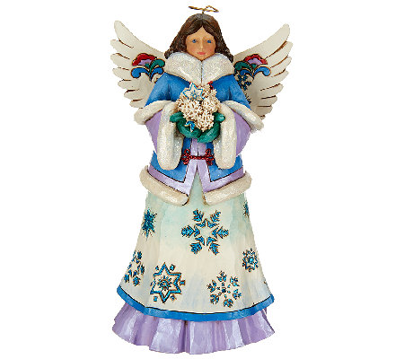 Jim Shore Winter Wonderland Angel Figurine
