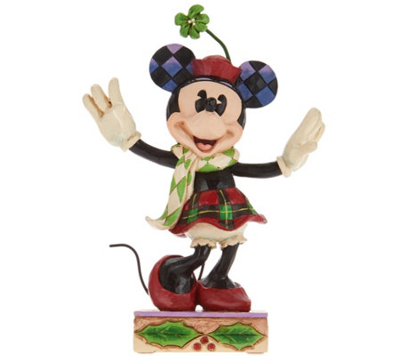 Jim Shore Disney Traditions Christmas Minnie Figurine