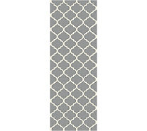 Ruggable Moroccan Trellis Runner 2pc Washable Rug System - H212853